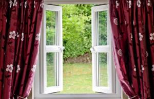 Prirodzené vetranie oknami